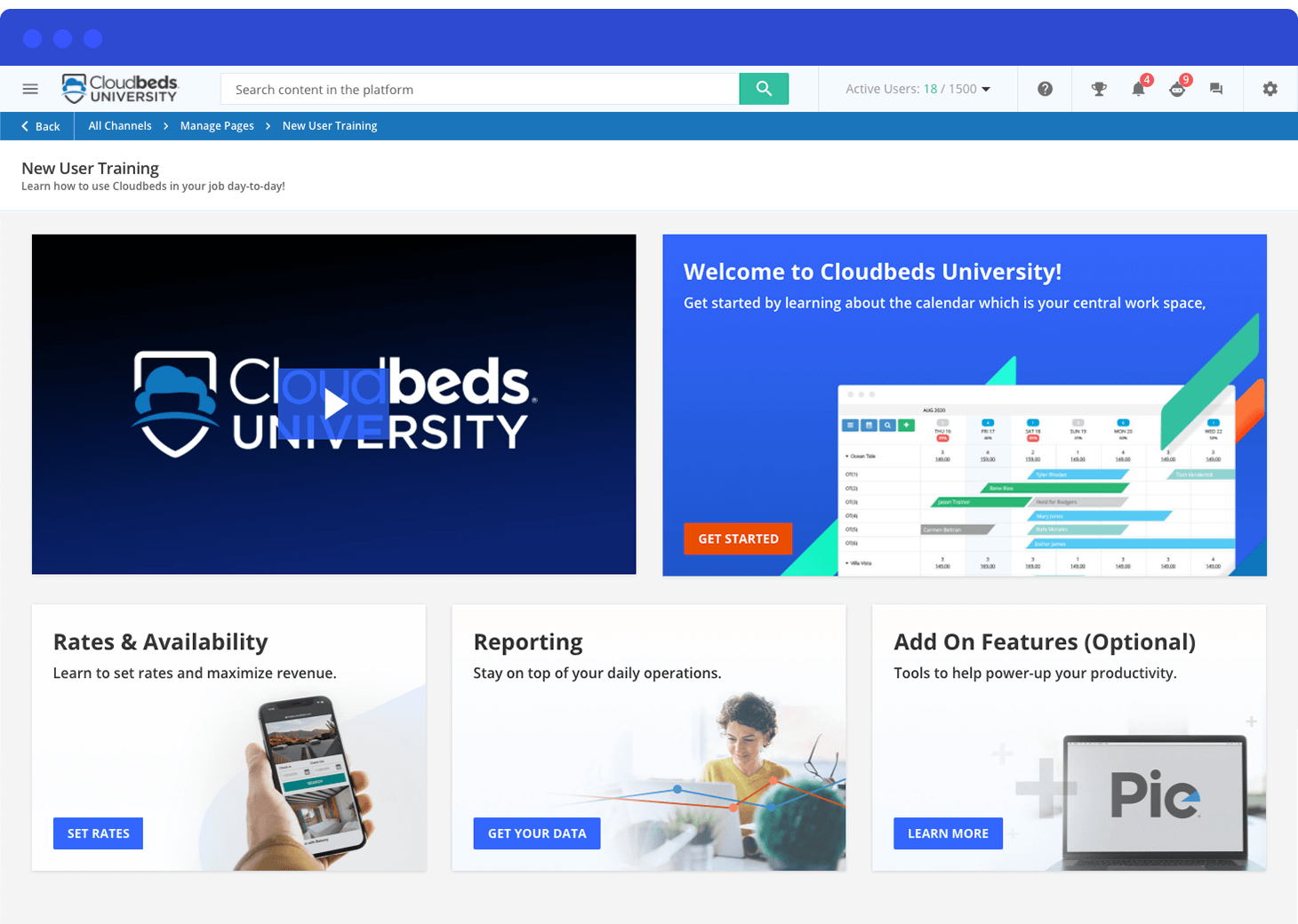 Cloudbeds University
